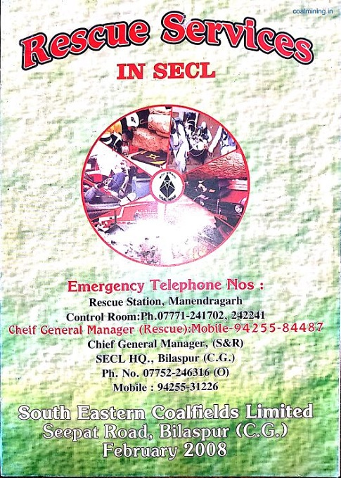 Rescue Services in SECL