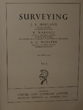 Surveying by J.L. Holland